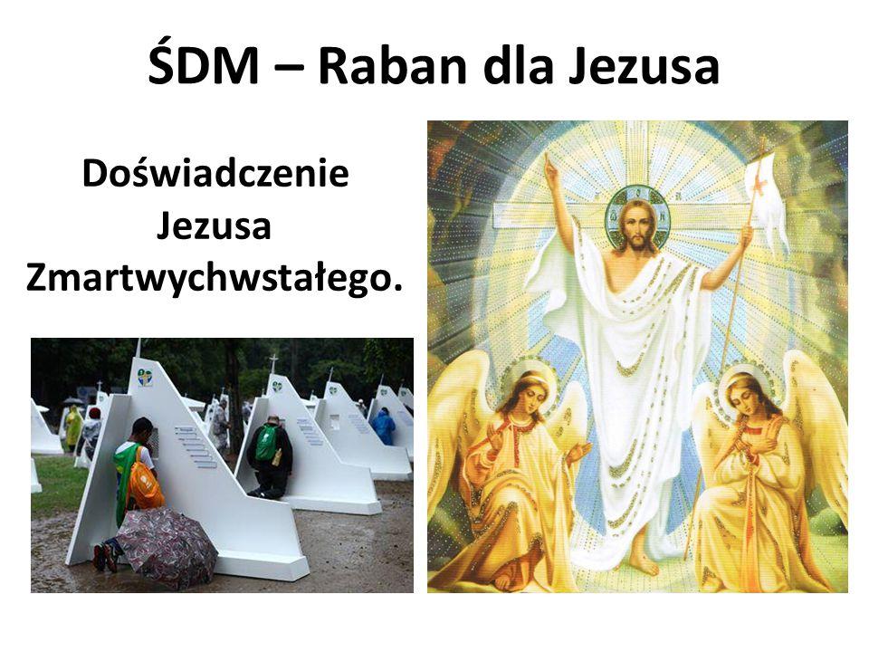 Doświadczenie Jezusa Zmartwychwstałego.