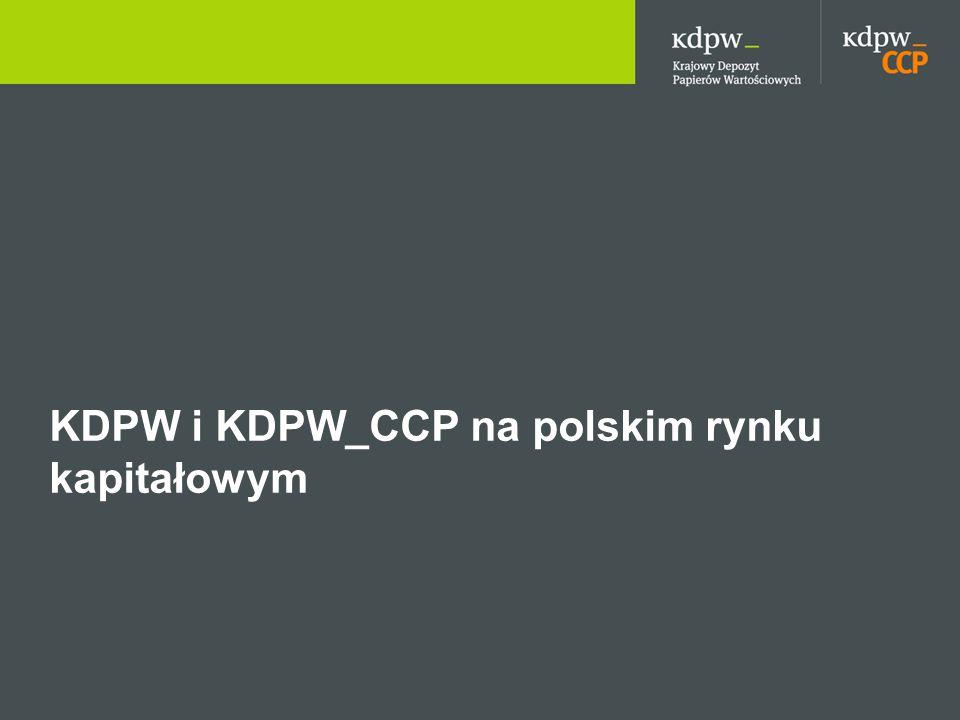 KDPW i KDPW_CCP na polskim rynku kapitałowym