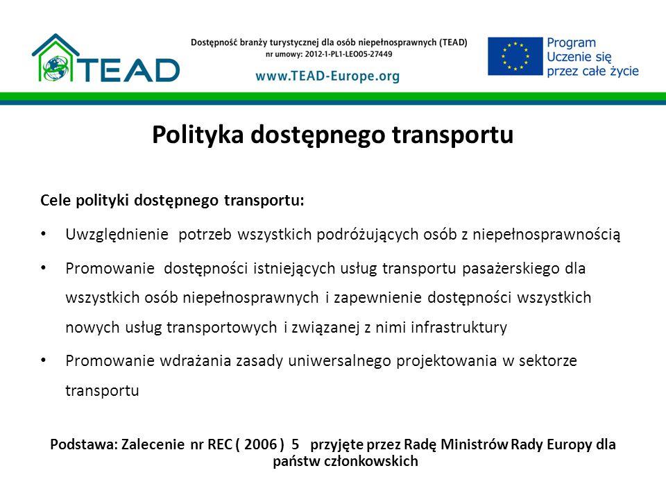 Polityka dostępnego transportu