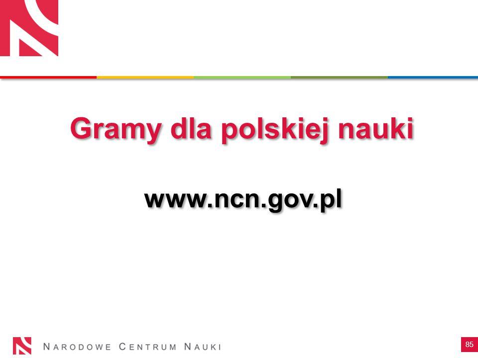 Gramy dla polskiej nauki