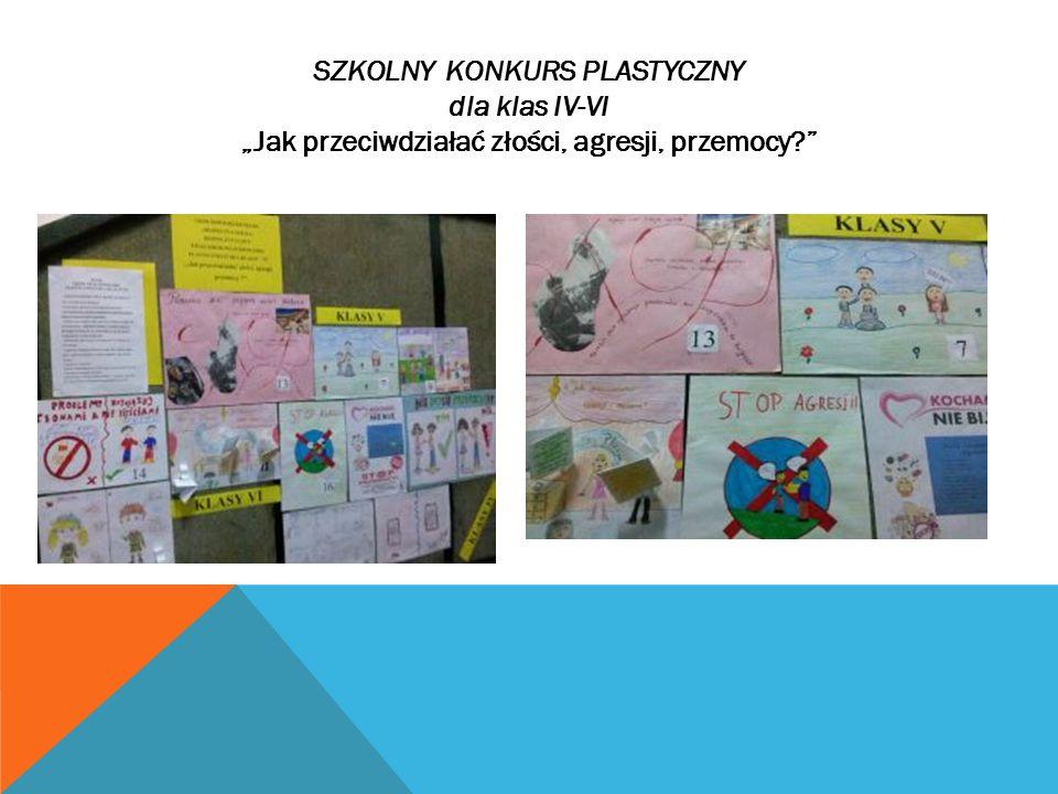 SZKOLNY KONKURS PLASTYCZNY dla klas IV-VI