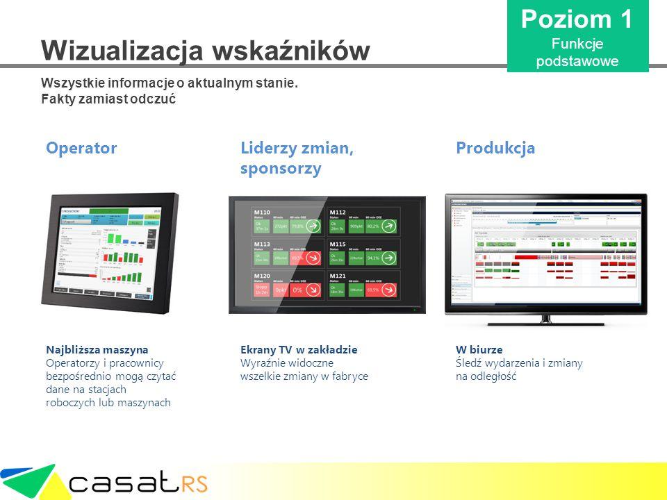 Wizualizacja wskaźników