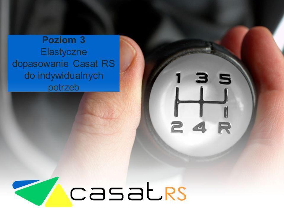 Elastyczne dopasowanie Casat RS do indywidualnych potrzeb