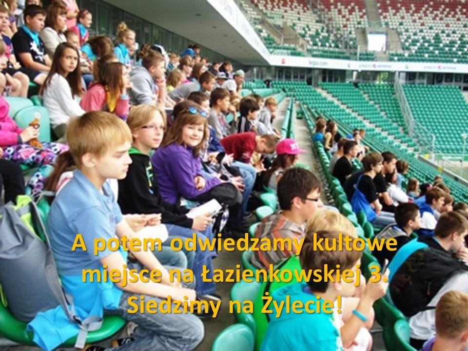 A potem odwiedzamy kultowe miejsce na Łazienkowskiej 3