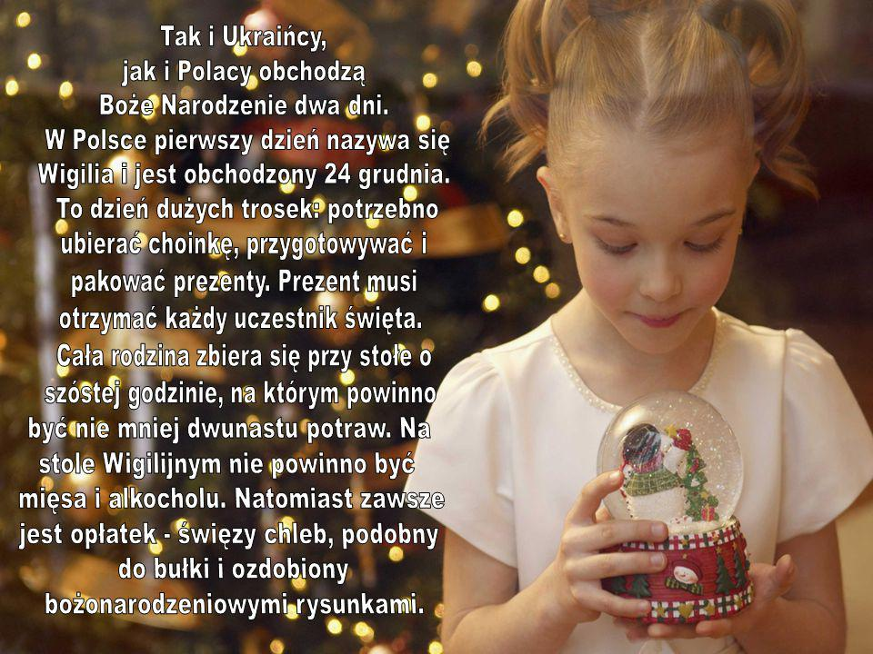 Boże Narodzenie dwa dni. W Polsce pierwszy dzień nazywa się