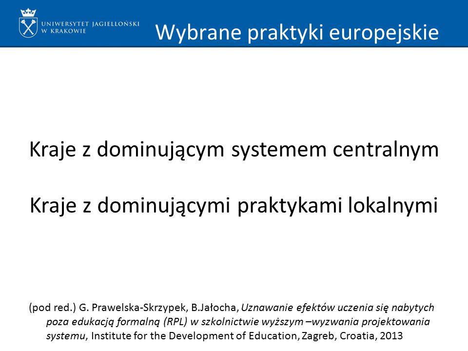 Wybrane praktyki europejskie