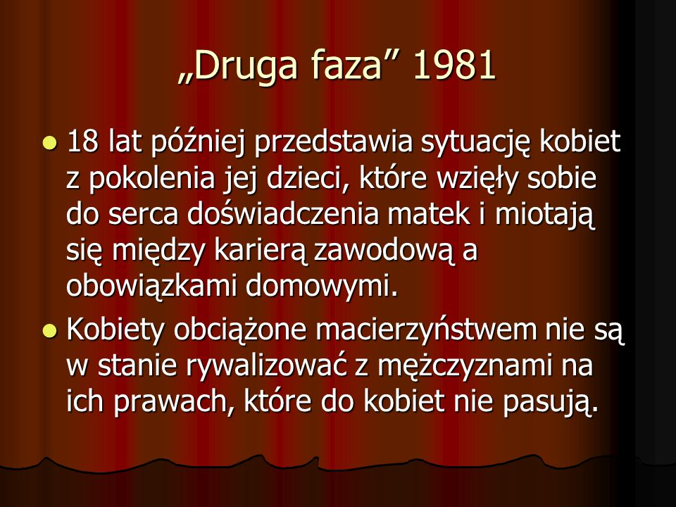 """""""Druga faza 1981"""
