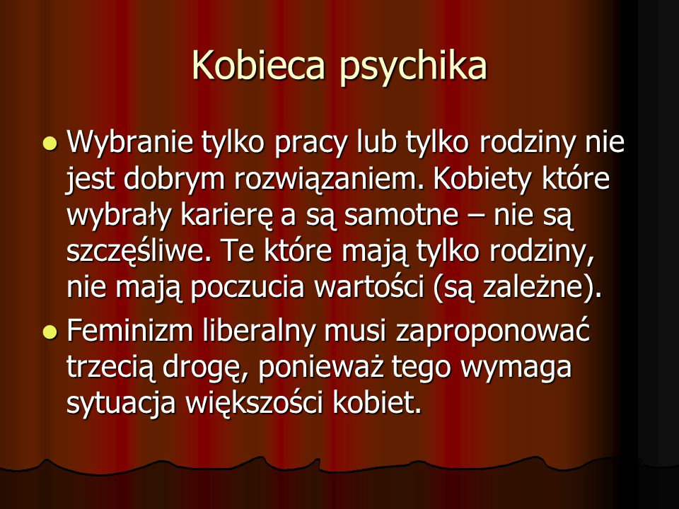 Kobieca psychika