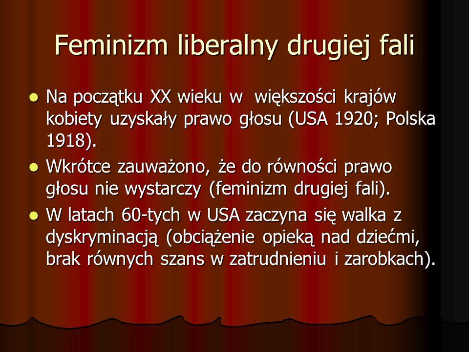 Feminizm liberalny drugiej fali