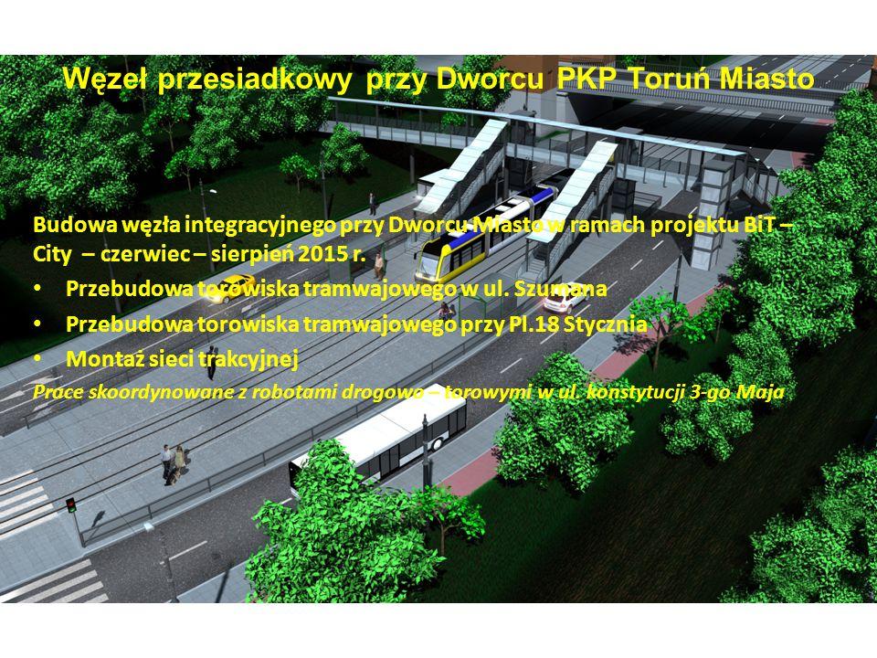 Węzeł przesiadkowy przy Dworcu PKP Toruń Miasto