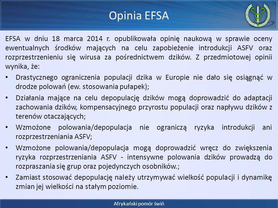 Opinia EFSA
