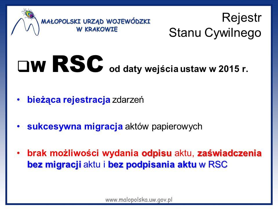 Rejestr Stanu Cywilnego