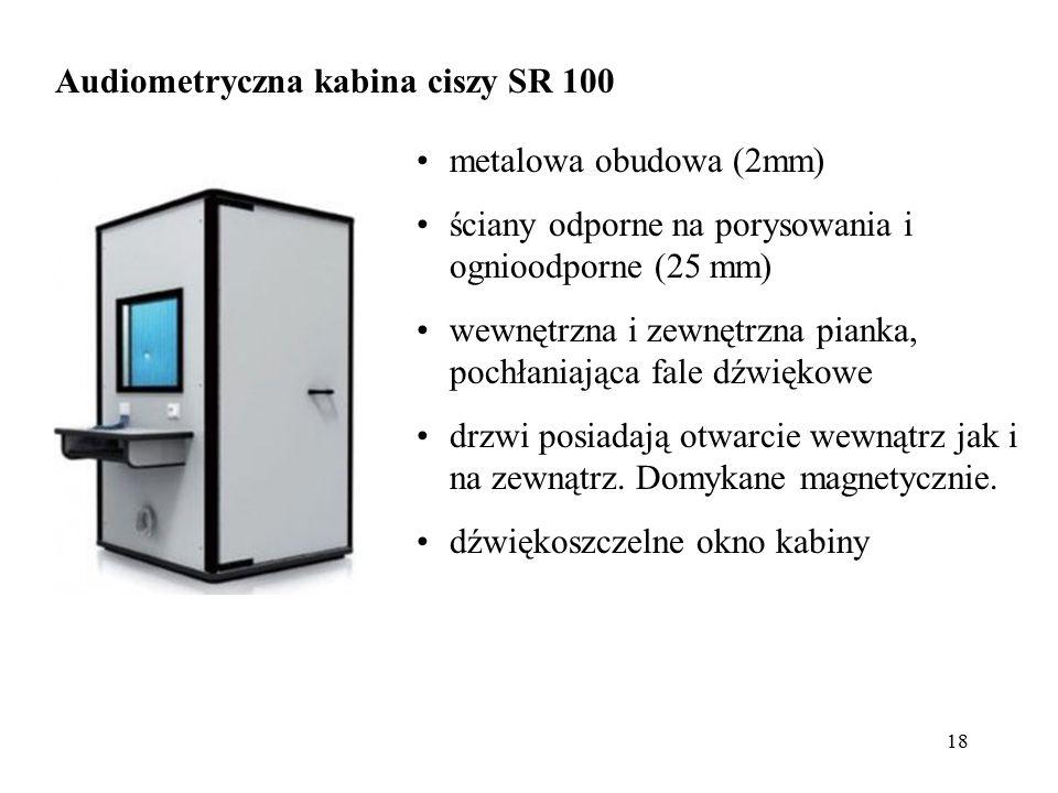 Audiometryczna kabina ciszy SR 100