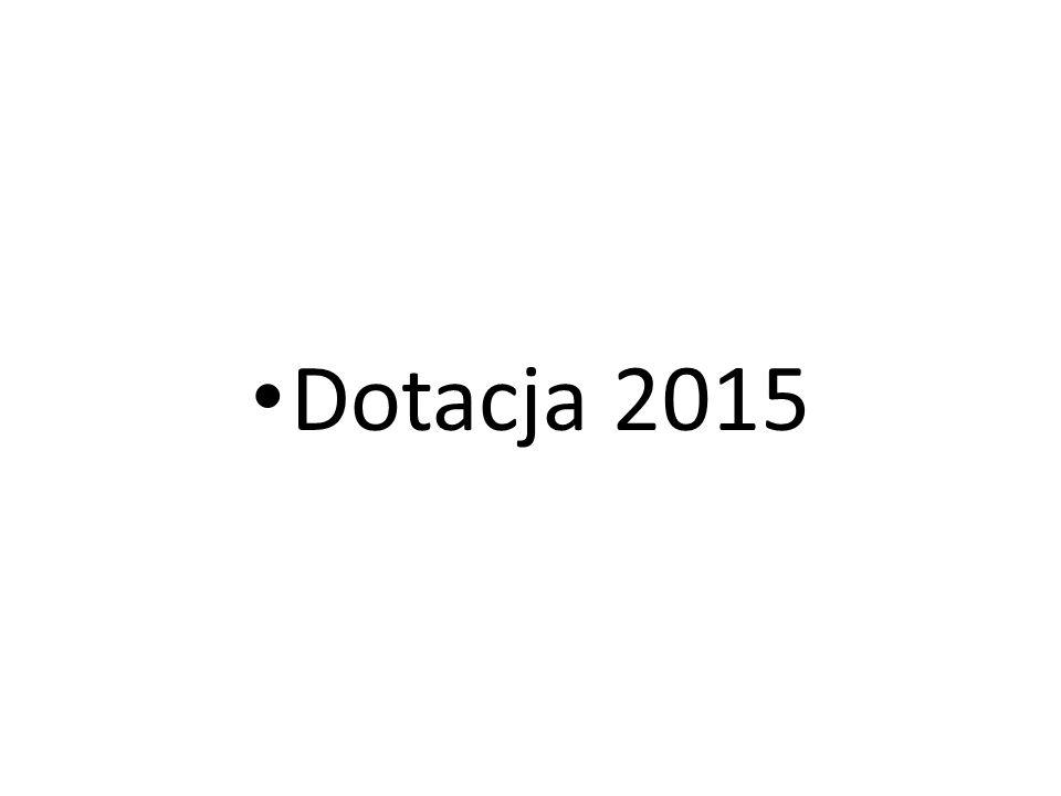 Dotacja 2015