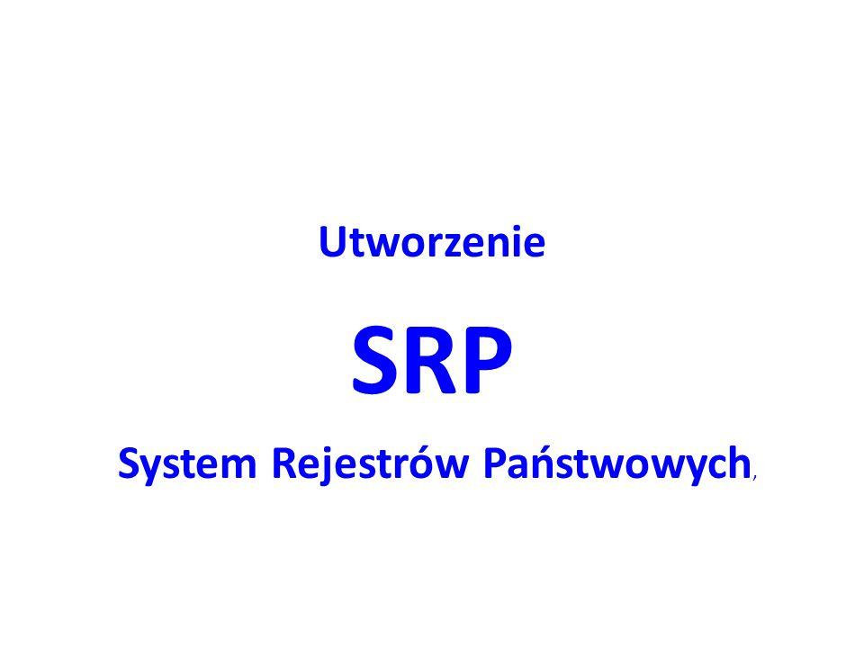 System Rejestrów Państwowych,