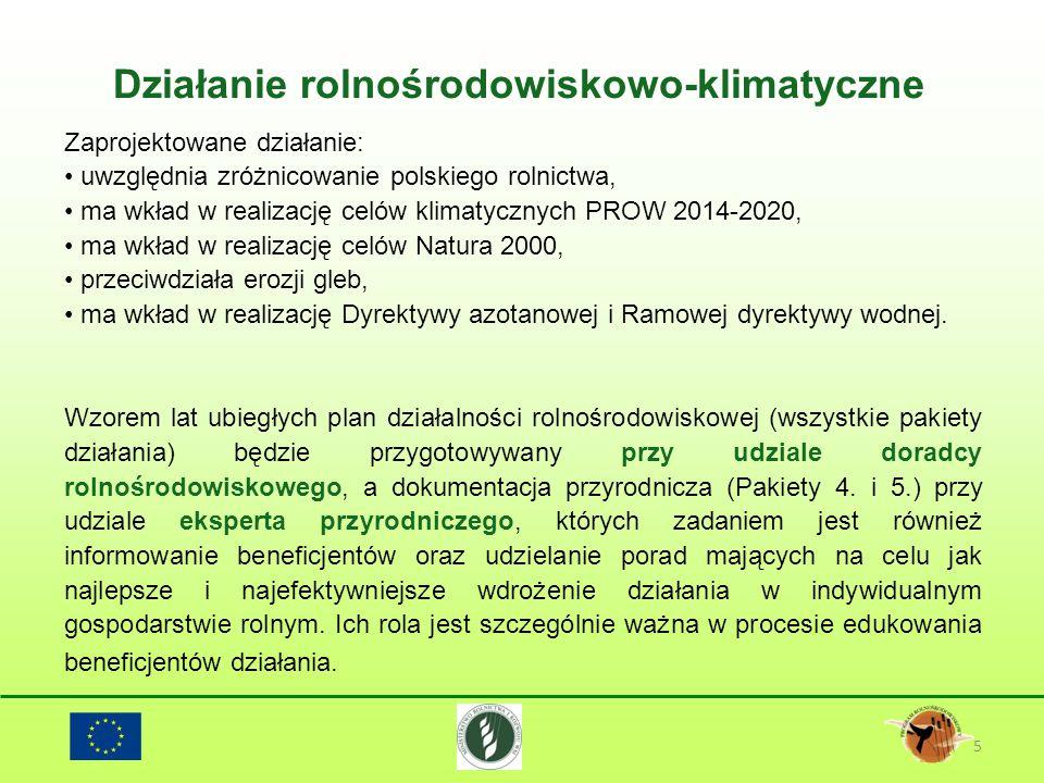 Działanie rolnośrodowiskowo-klimatyczne