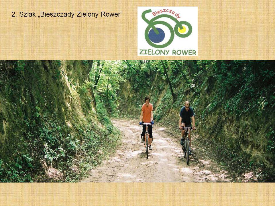 """2. Szlak """"Bieszczady Zielony Rower"""