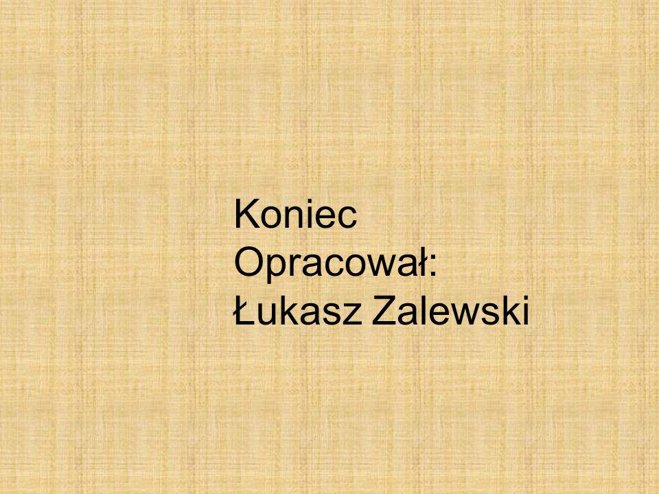 Koniec Opracował: Łukasz Zalewski