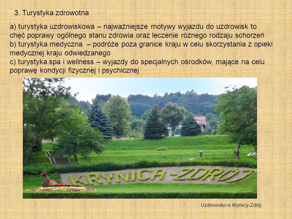 3. Turystyka zdrowotna