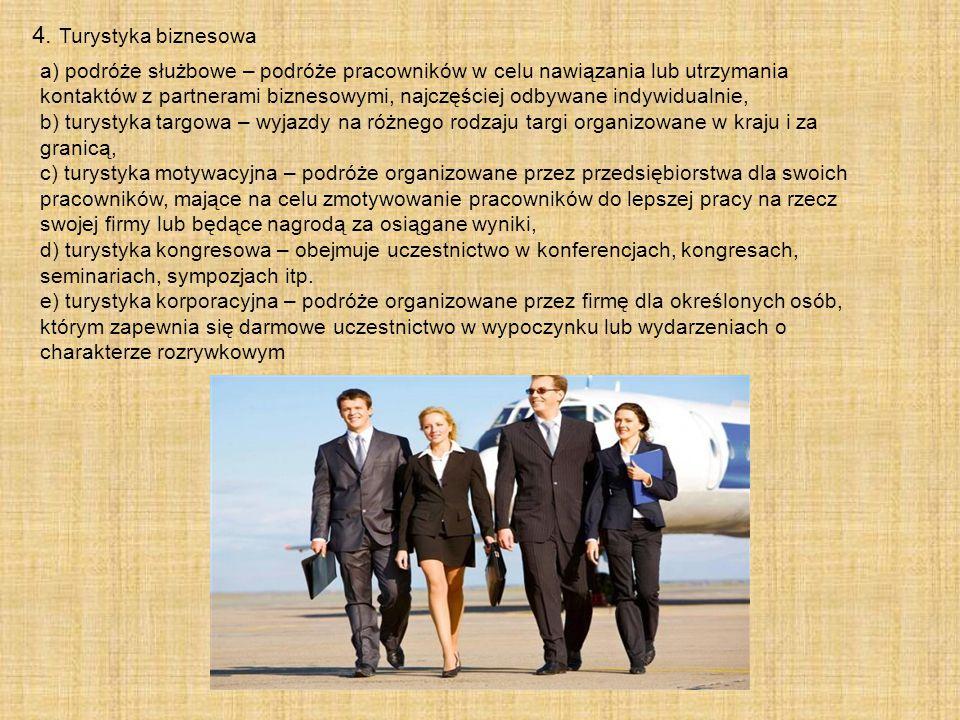 4. Turystyka biznesowa