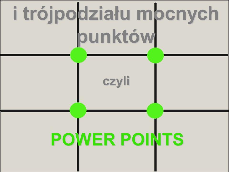 i trójpodziału mocnych punktów