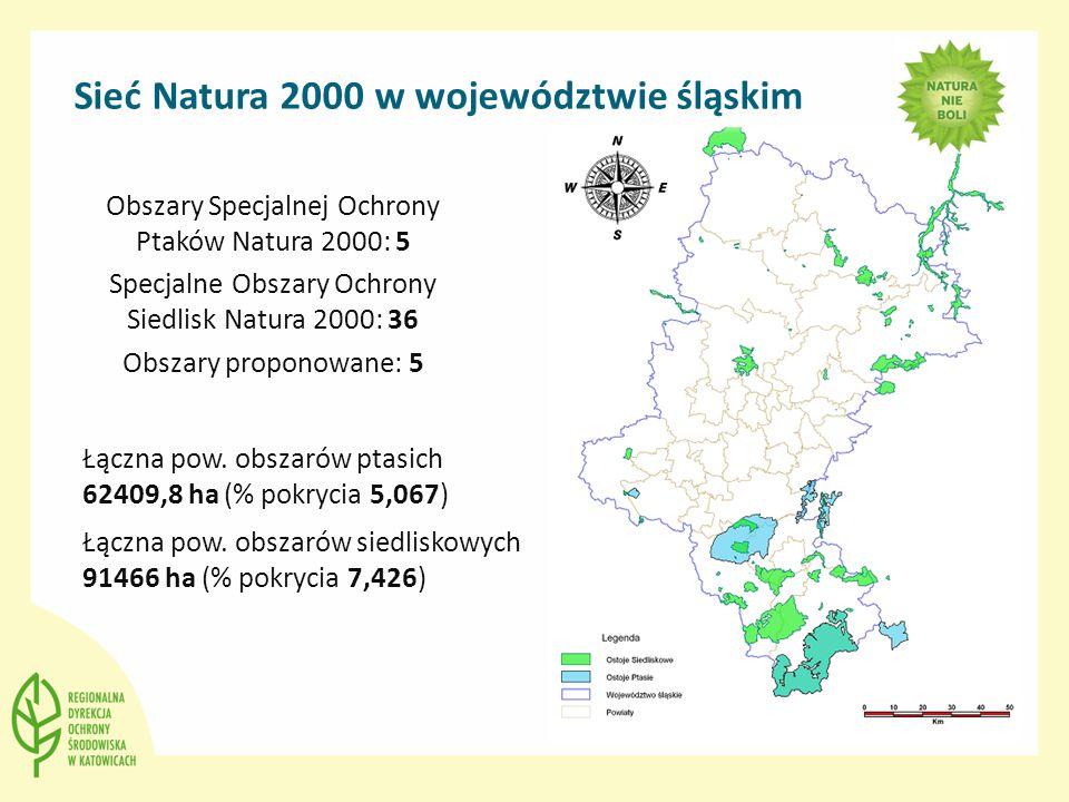 Sieć Natura 2000 w województwie śląskim