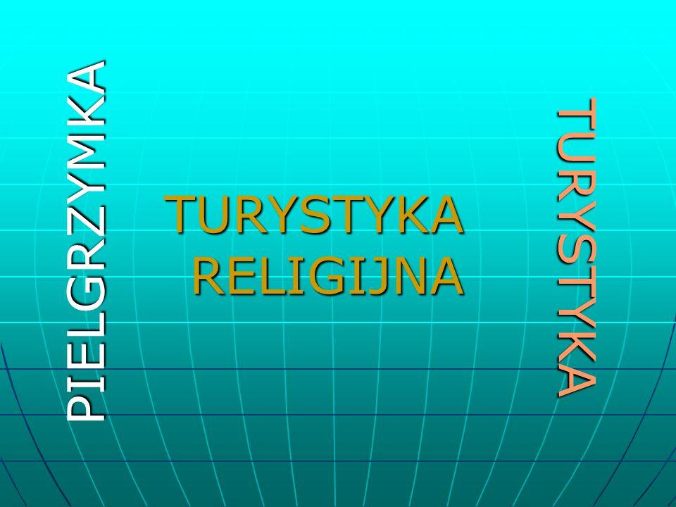 TURYSTYKA RELIGIJNA PIELGRZYMKA TURYSTYKA