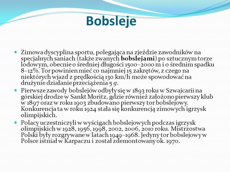 Bobsleje