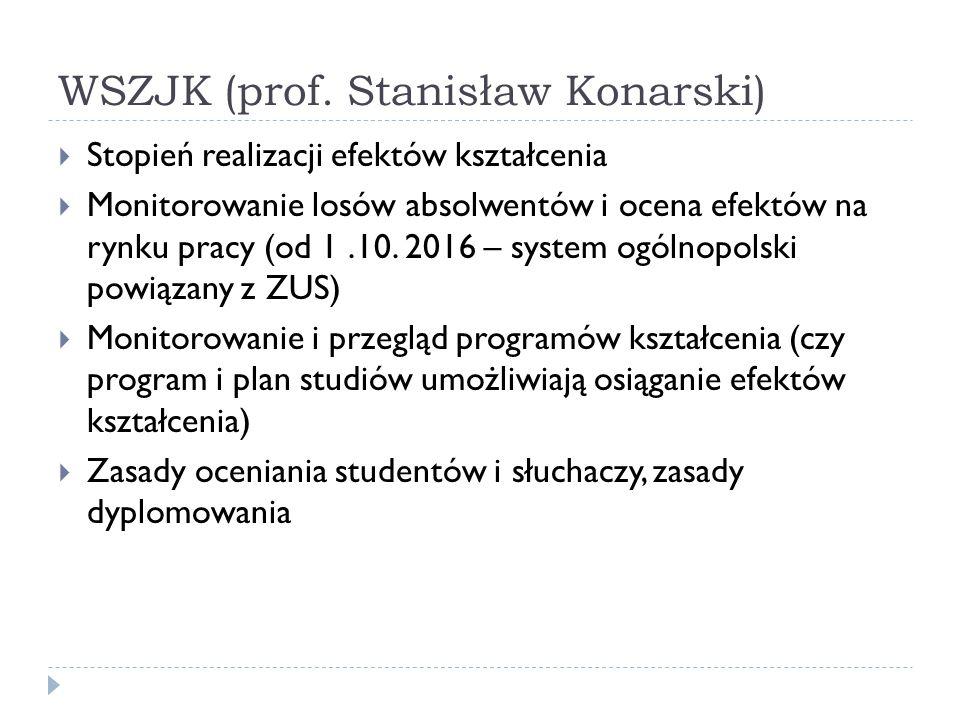 WSZJK (prof. Stanisław Konarski)