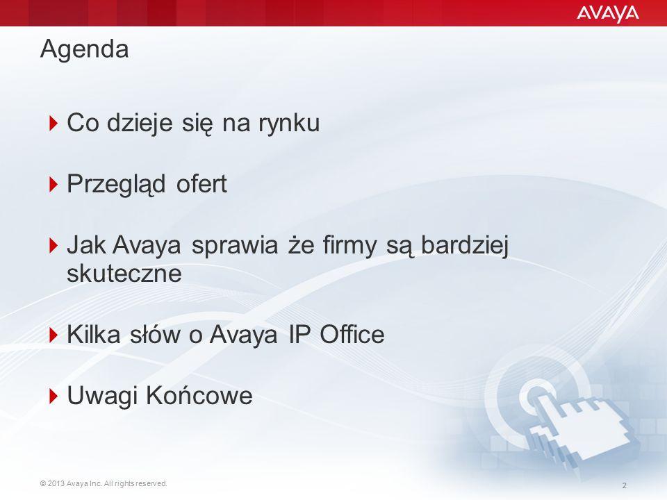 Jak Avaya sprawia że firmy są bardziej skuteczne
