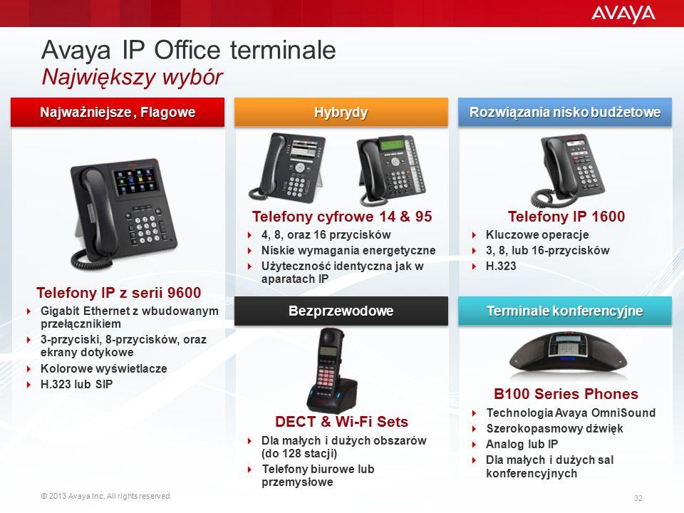 Avaya IP Office terminale Największy wybór