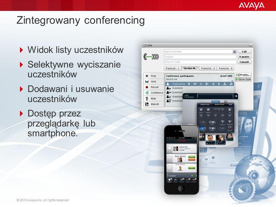 Zintegrowany conferencing