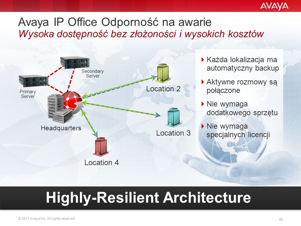 Highly-Resilient Architecture