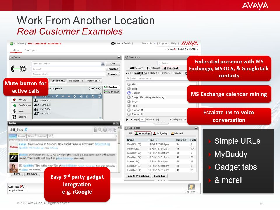 Work From Another Location Real Customer Examples