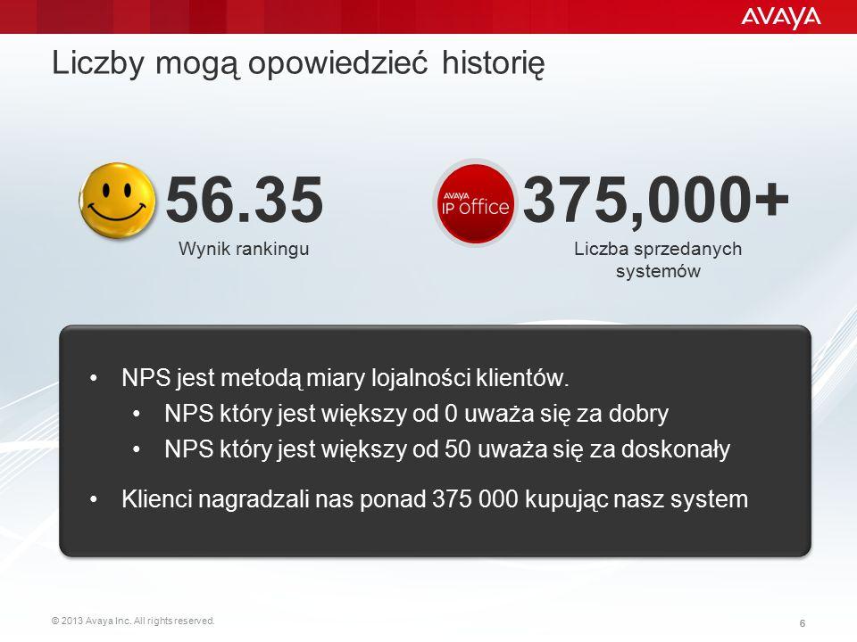 Liczby mogą opowiedzieć historię
