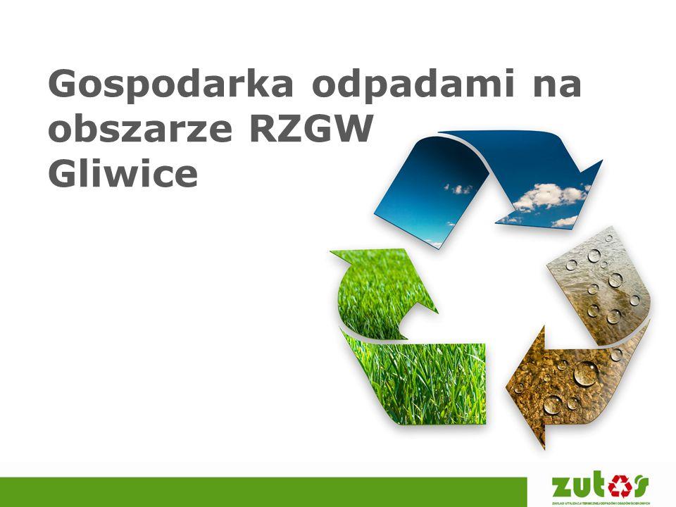 Gospodarka odpadami na obszarze RZGW Gliwice