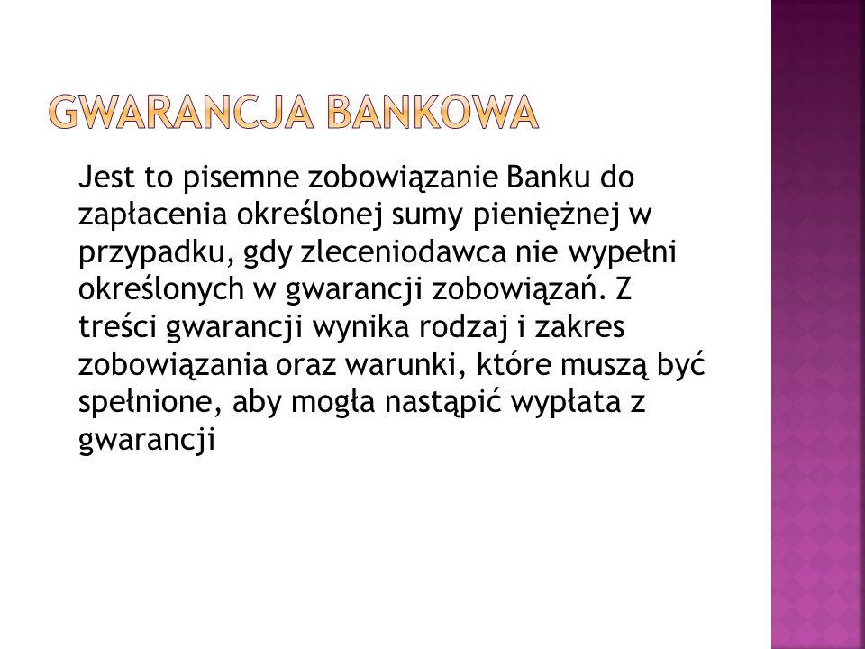 Gwarancja bankowa