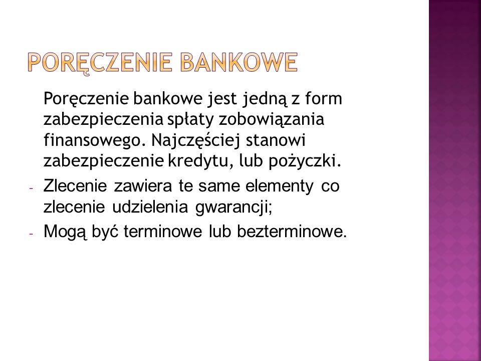 Poręczenie bankowe
