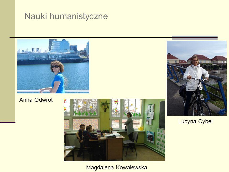 Nauki humanistyczne Anna Odwrot Lucyna Cybel Magdalena Kowalewska