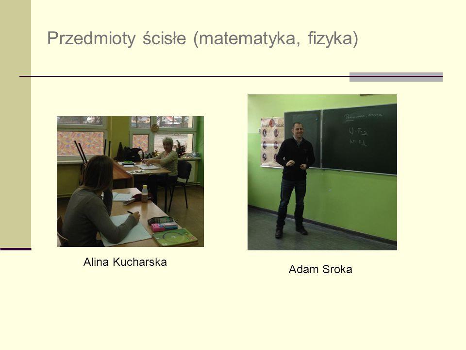 Przedmioty ścisłe (matematyka, fizyka)
