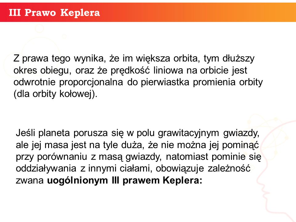 informatyka + III Prawo Keplera