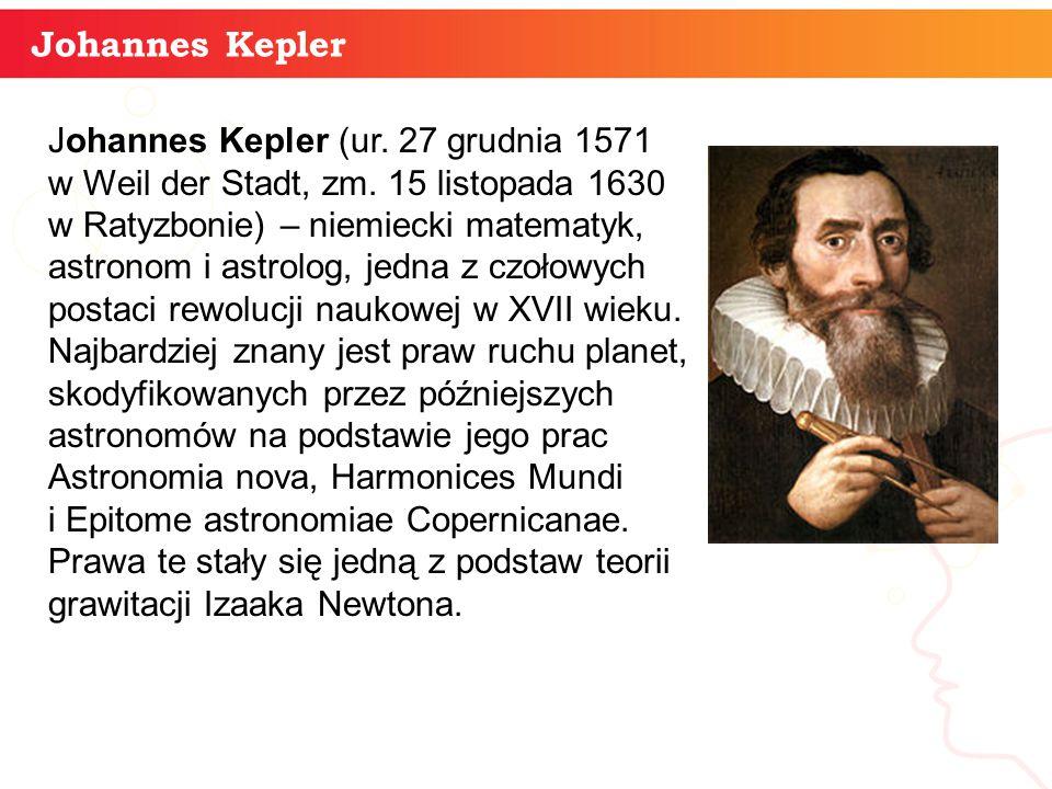 informatyka + Johannes Kepler