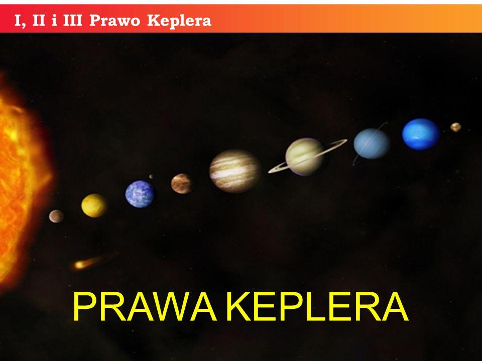 I, II i III Prawo Keplera PRAWA KEPLERA informatyka +