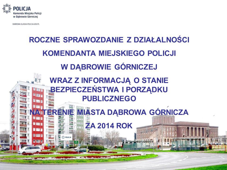 ROCZNE SPRAWOZDANIE Z DZIAŁALNOŚCI KOMENDANTA MIEJSKIEGO POLICJI