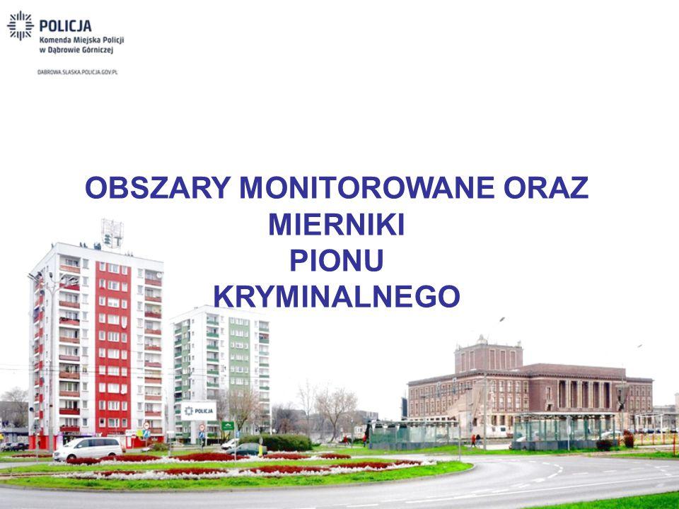 OBSZARY MONITOROWANE ORAZ MIERNIKI