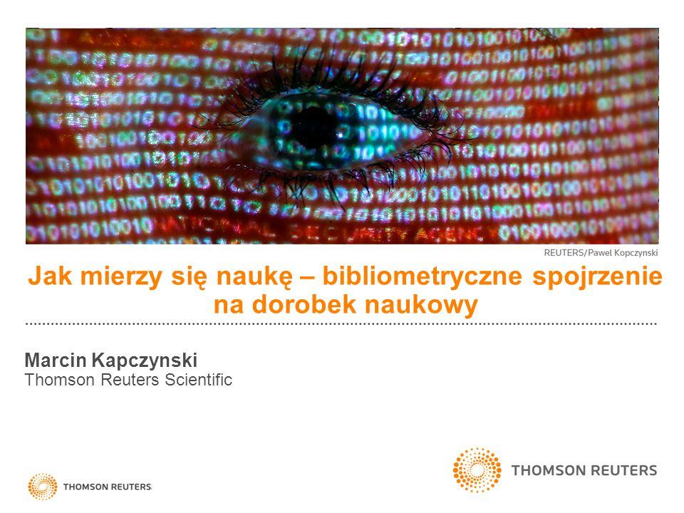 Jak mierzy się naukę – bibliometryczne spojrzenie na dorobek naukowy