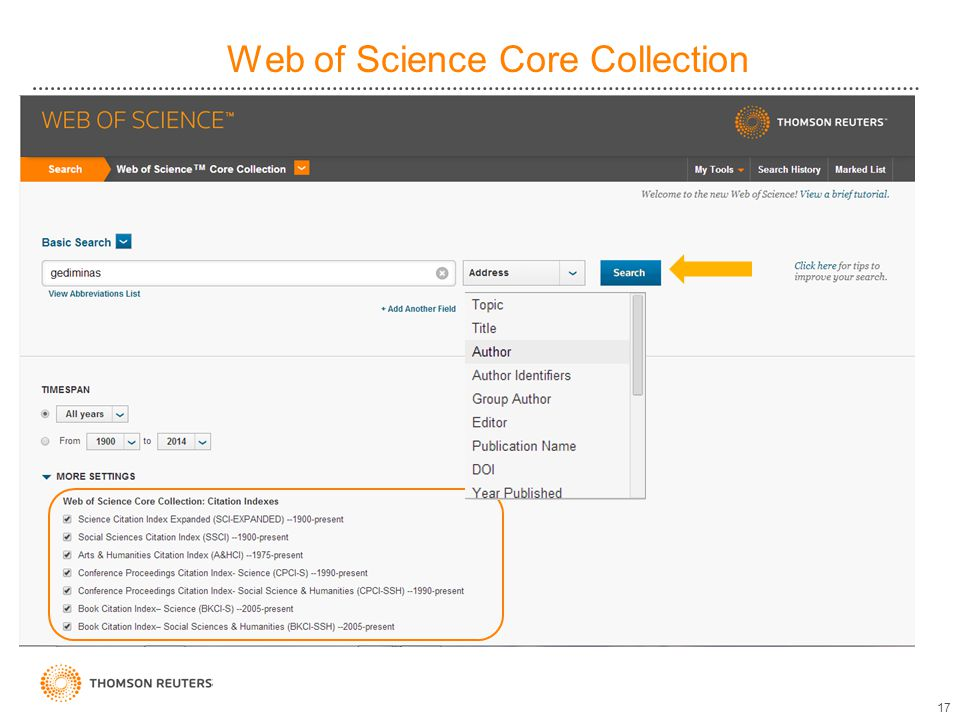 Web of Science Core Collection