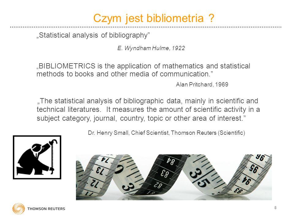 Czym jest bibliometria