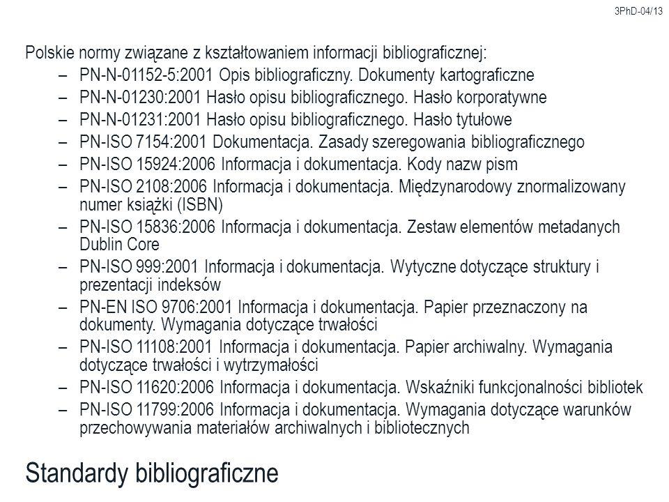 Standardy bibliograficzne