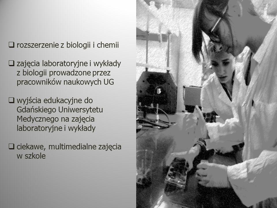 rozszerzenie z biologii i chemii